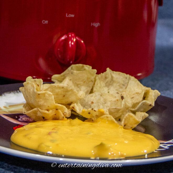 Crock-Pot cheese dip