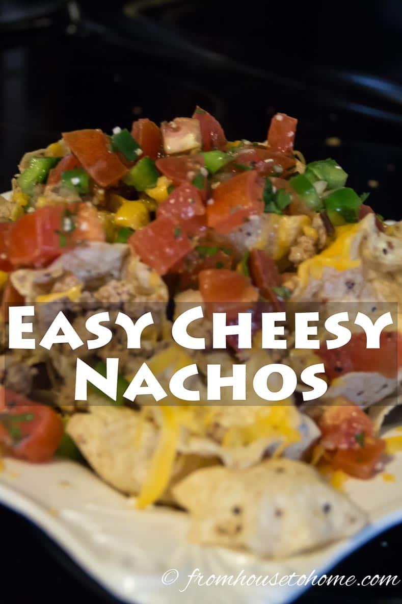 Easy Cheesy Nachos