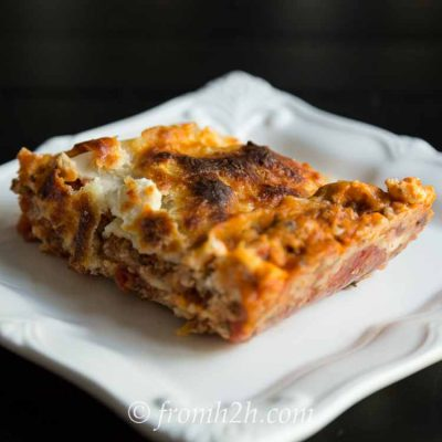 Turkey Lasagna