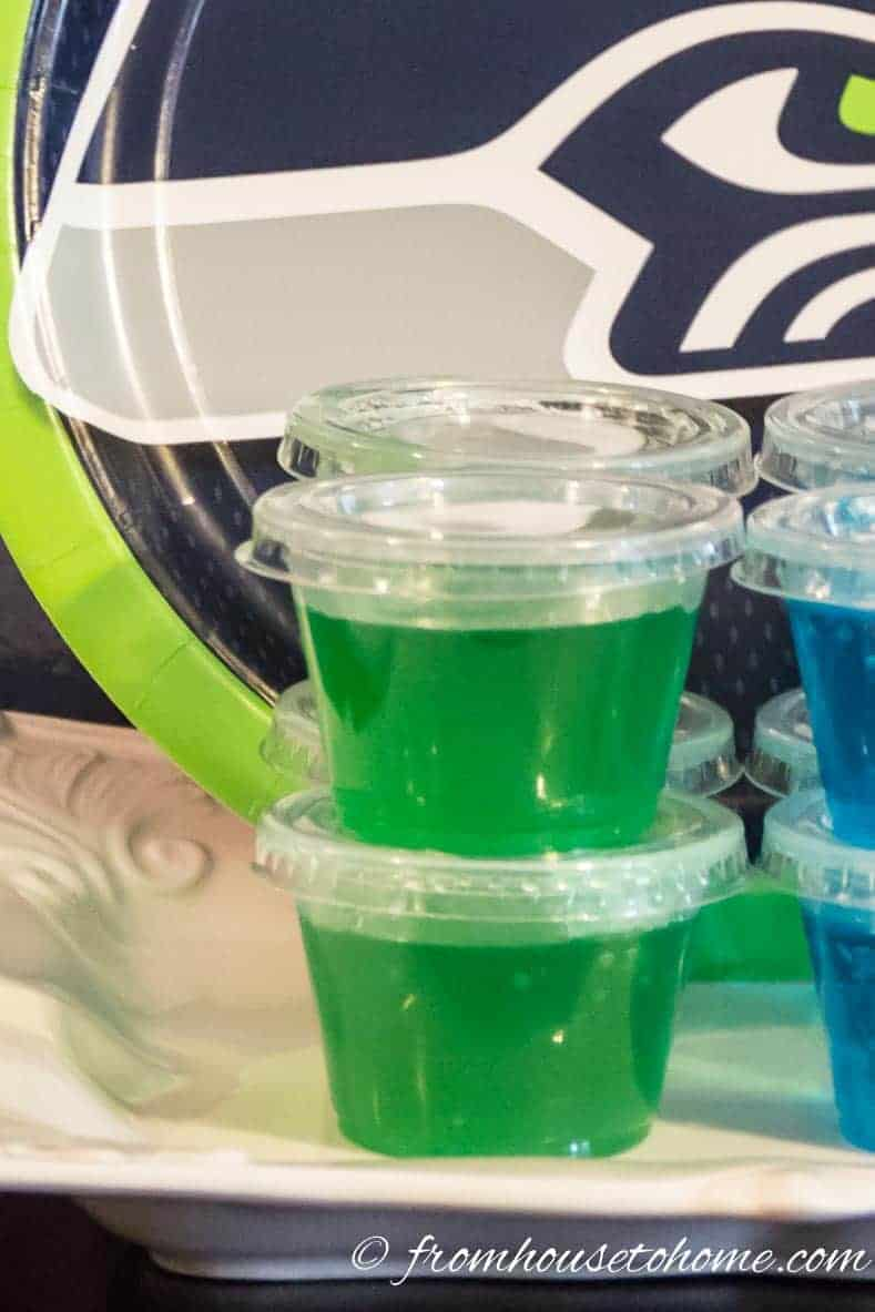 Green Jello Shots are one of the Best Jello Shot recipes by color