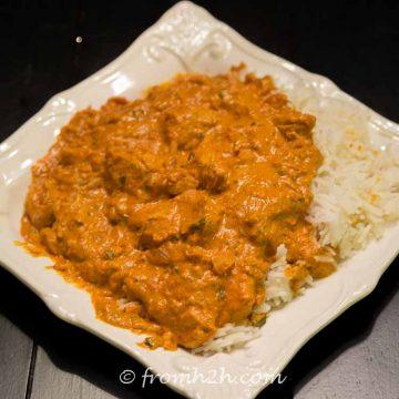 Simplified Chicken Makhani