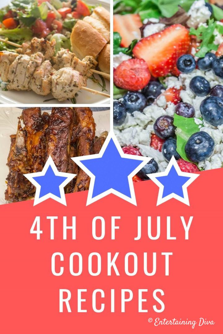 4th of July cookout recipes