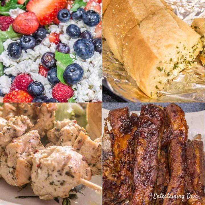 4th of july menu