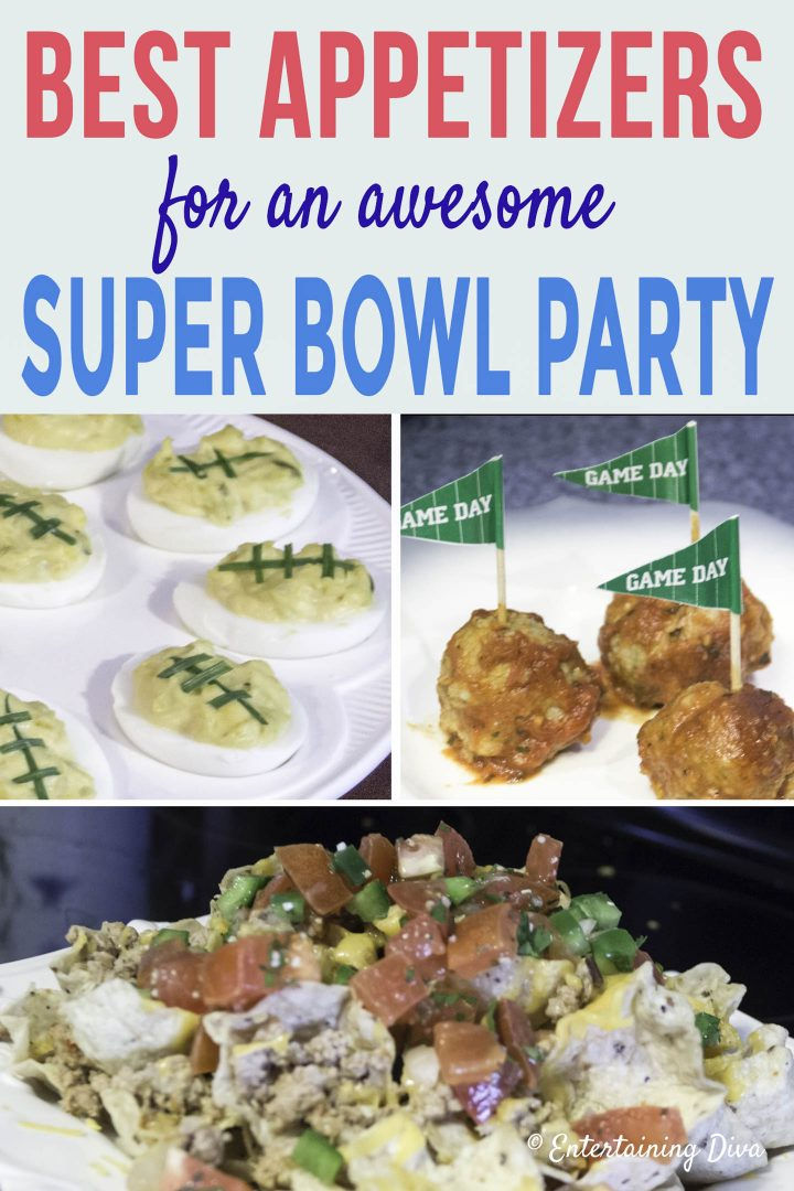 Best appetizers for a super bowl party