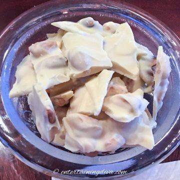 white almond bark recipe