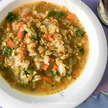 blue ribbon split pea soup