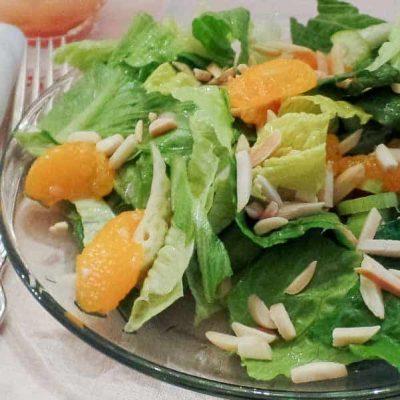 Mandarin Orange Romaine Salad