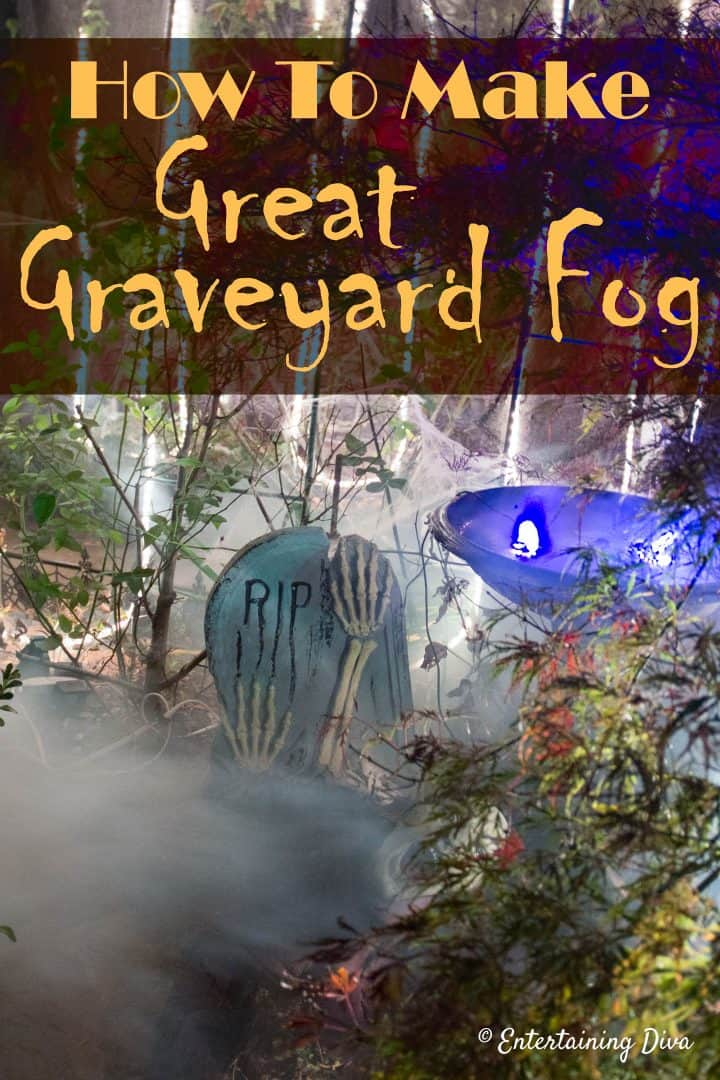 Halloween fog machine ideas: How to make fog stay low to the ground