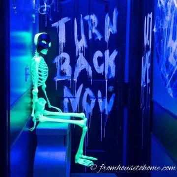 9 Ways To Create Glow-In-The-Dark Halloween Decorations