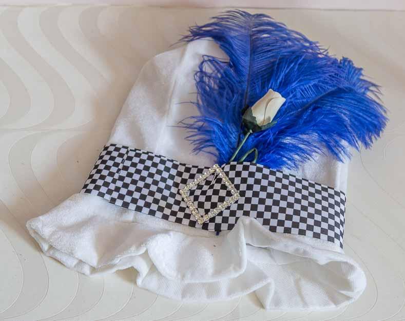Mad Hatter blue hat