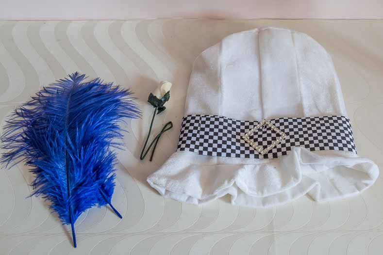 Mad Hatter blue hat supplies