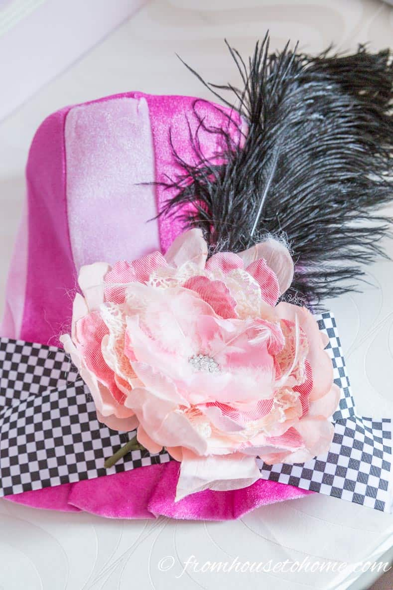 Mad Hatter Pink Hat #1