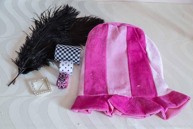 Pink Hat #2 supplies
