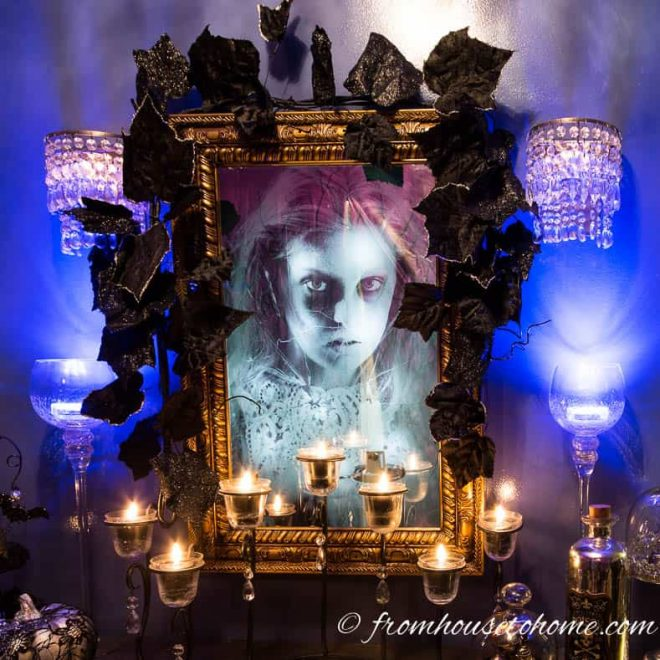 haunted house mirror