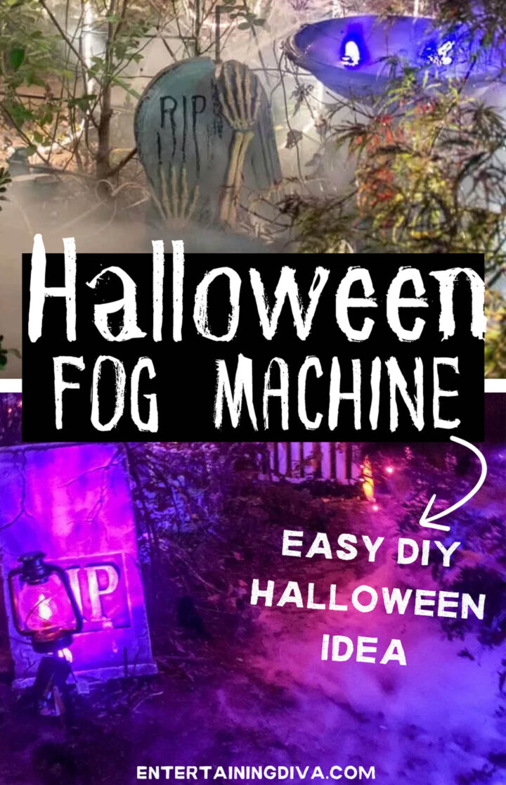 Halloween fog machine ideas